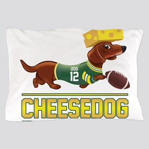 Cheesedog 2 (Dachshund) Pillow Case